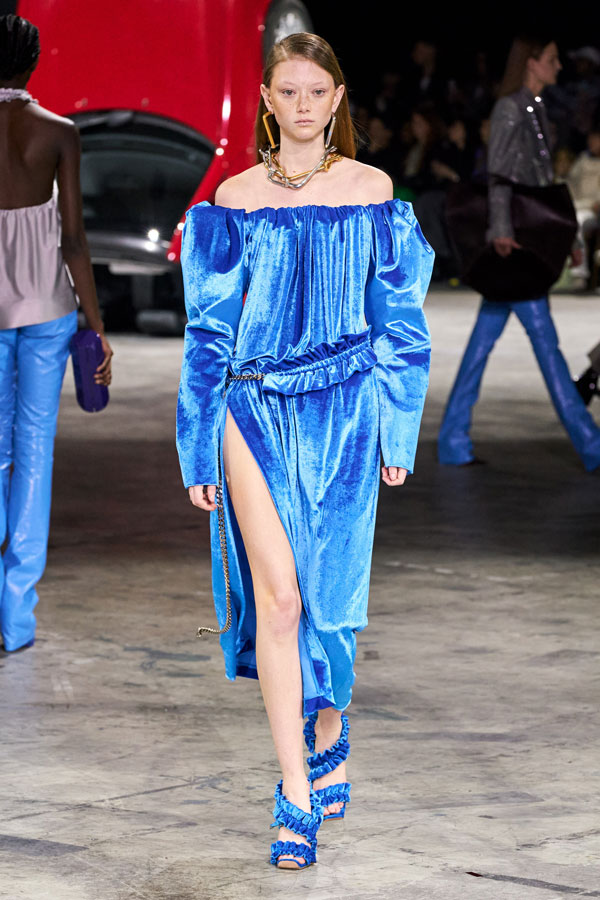 Off-White_Autunno Inverno 2020/2021_Fashion Trend_Velluto colorato