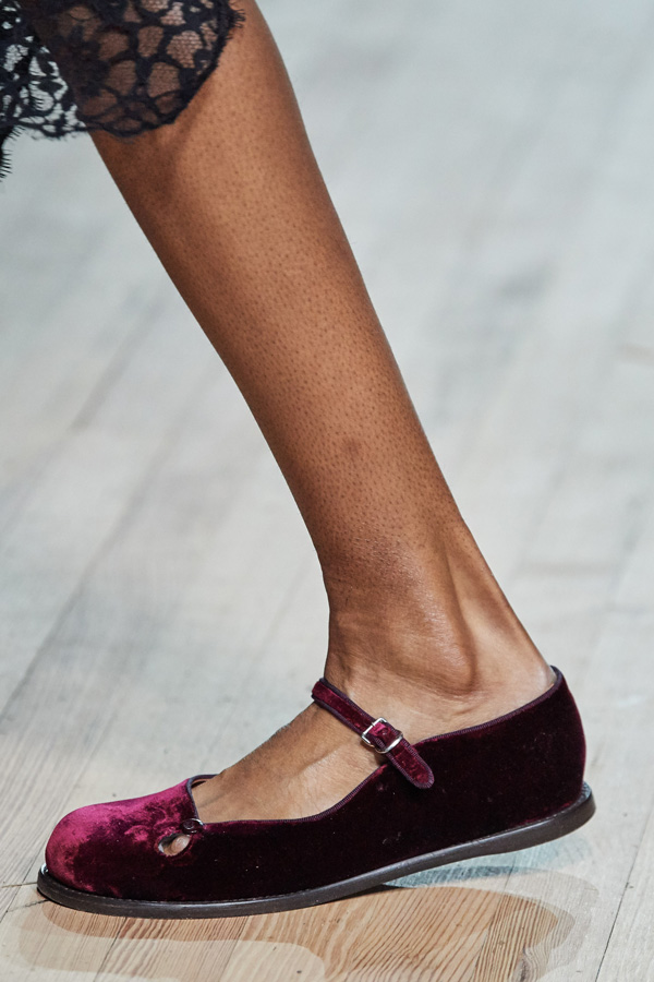 Marc Jacobs_Autunno Inverno 2020/2021_Fashion Trend_scarpe in velluto