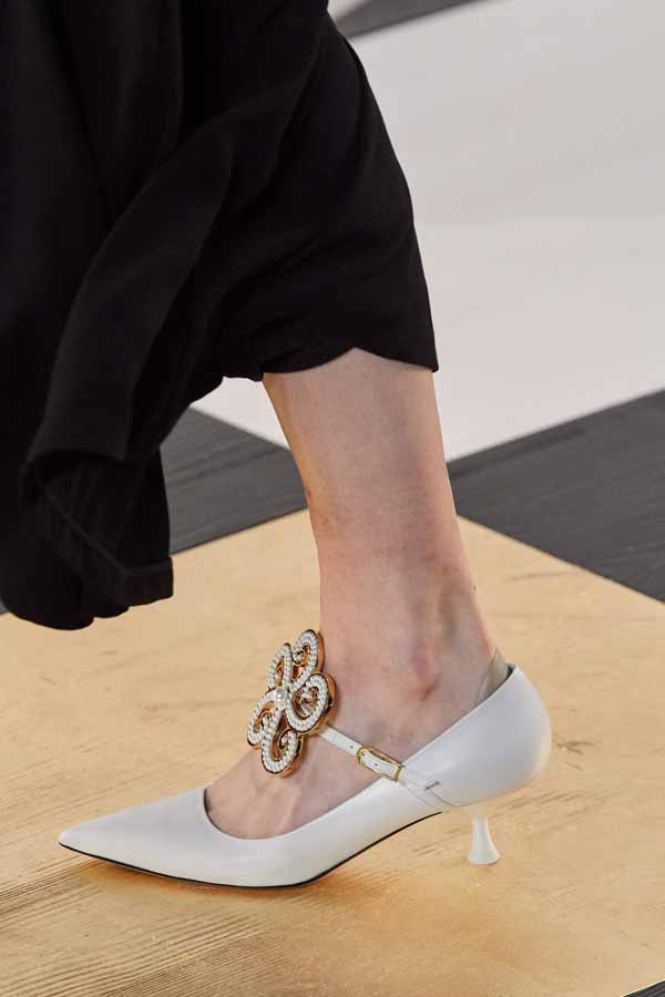 Loewe Autunno Inverno 2020 2021, Fashion Trend Scarpe Baby Shoes